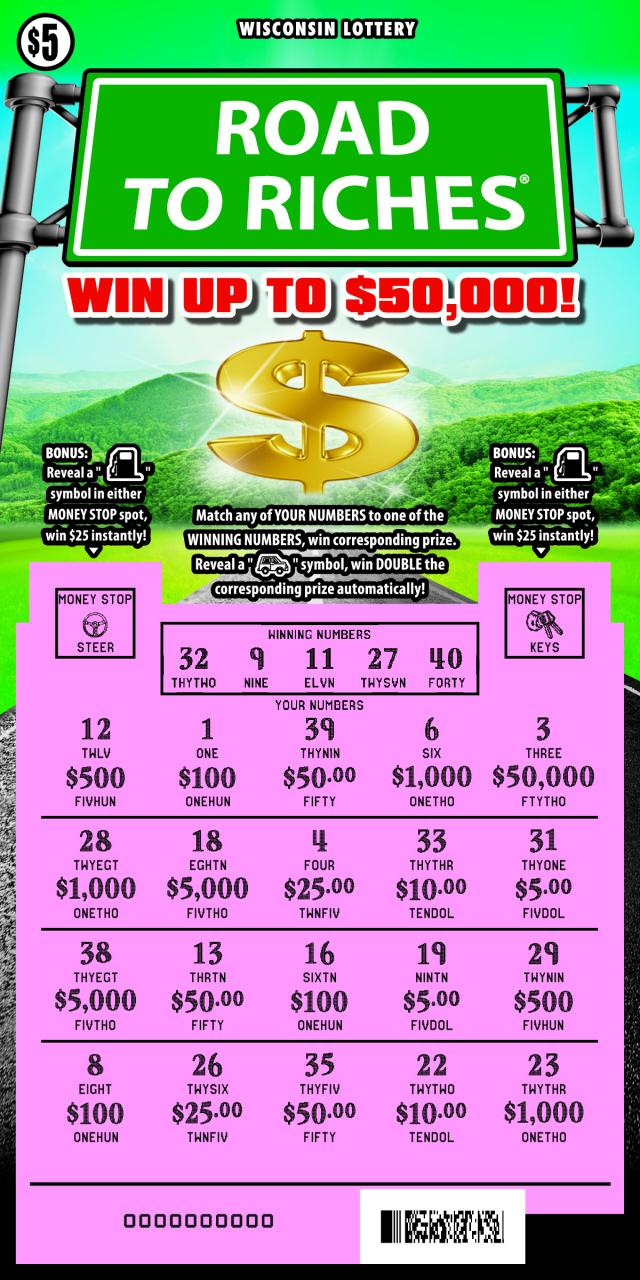 WI-Lottery-2139-Scratch-Game-Road-To-Riches-Scratched