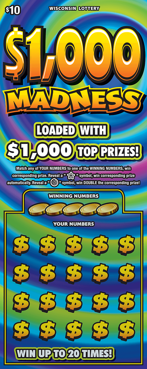 Image of $1,000 MADNESS (2216)