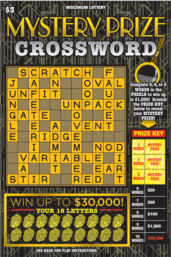 Image of MYSTERY PRIZE CROSSWORD (2281)