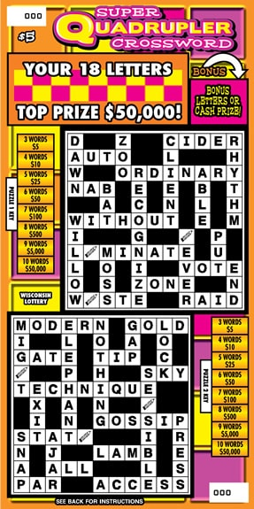 Super Quadrupler Crossword (930)