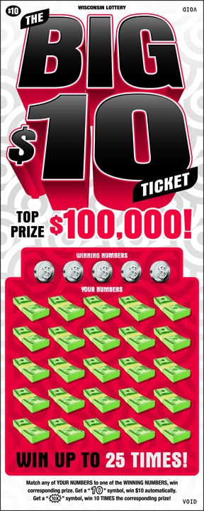 The Big $10 Ticket (555)